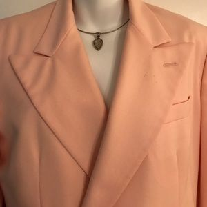 GORGEOUS LIGHT SALMON BLAZER BY  RALPH LAUREN